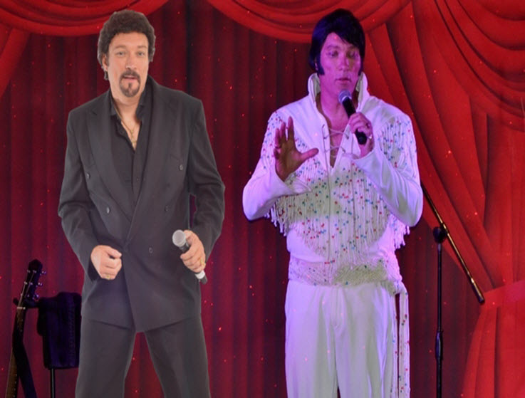 Elvis Meets Tom Jones Show